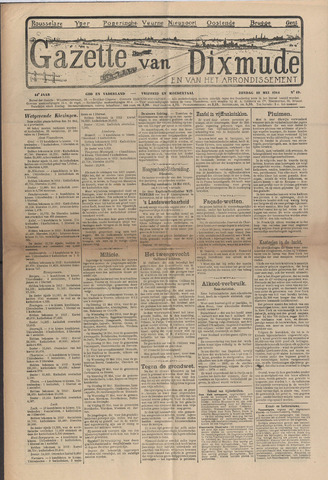 Gazette van Dixmude 1914-05-10