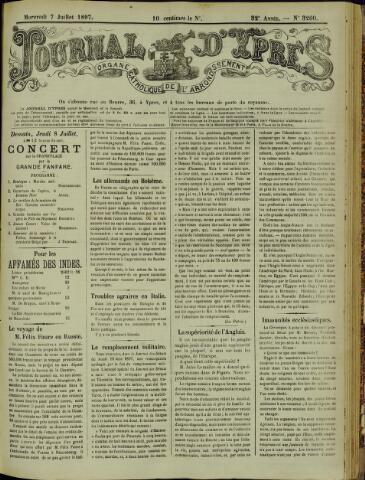 Journal d'Ypres (1874 - 1913) 1897-07-07