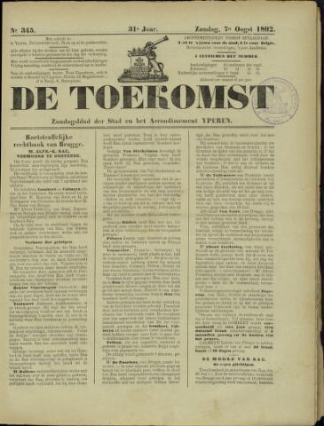 De Toekomst (1862 - 1894) 1892-08-07