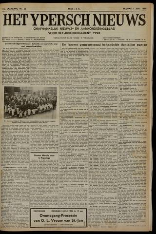 Het Ypersch nieuws (1929-1971) 1966-07-01