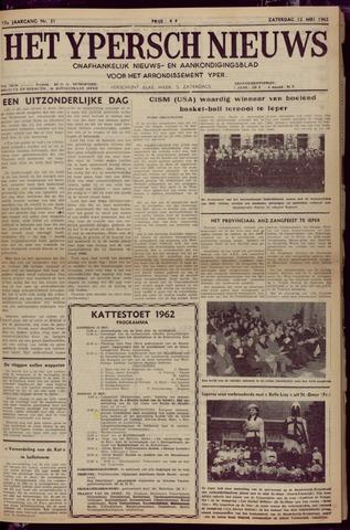 Het Ypersch nieuws (1929-1971) 1962-05-12