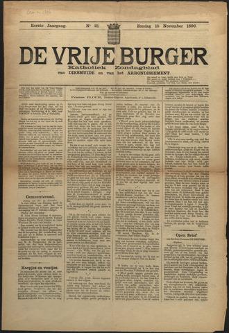 De Vrije Burger 1896-11-15