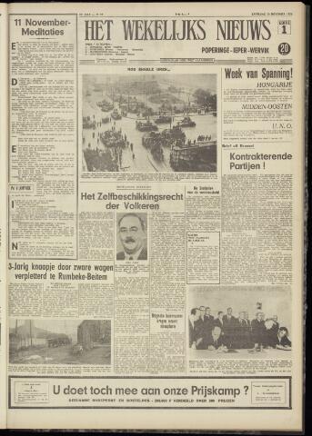 Het Wekelijks Nieuws (1946-1990) 1956-11-10