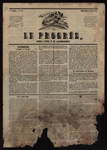 Le Progrès (1841-1914) 1841-06-13