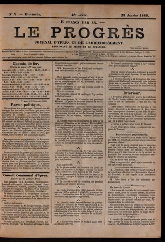 Le Progrès (1841-1914) 1888-01-29