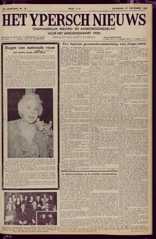 Het Ypersch nieuws (1929-1971) 1965-11-27