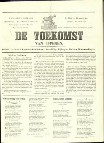 De Toekomst (1862 - 1894) 1871-04-30