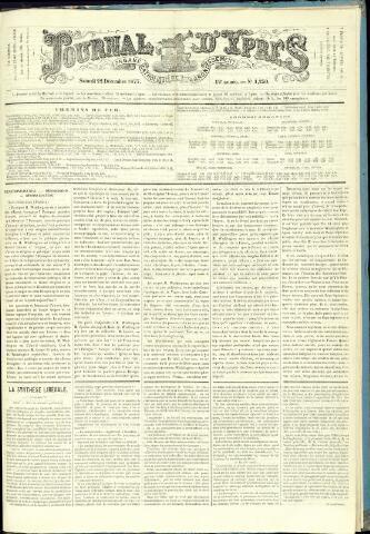 Journal d'Ypres (1874 - 1913) 1877-12-22