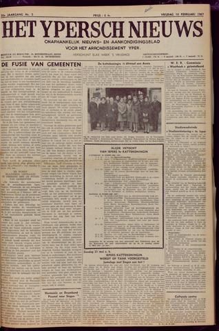 Het Ypersch nieuws (1929-1971) 1967-02-10