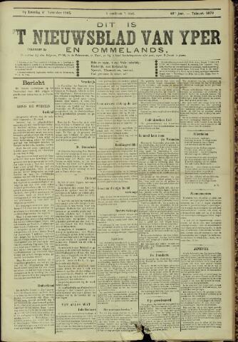 Nieuwsblad van Yperen en van het Arrondissement (1872 - 1912) 1905-11-04