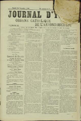 Journal d'Ypres (1874 - 1913) 1906-11-24