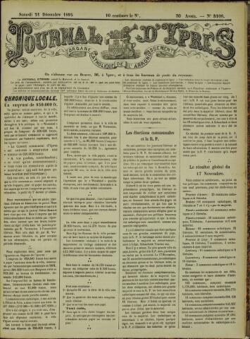Journal d'Ypres (1874 - 1913) 1895-12-21