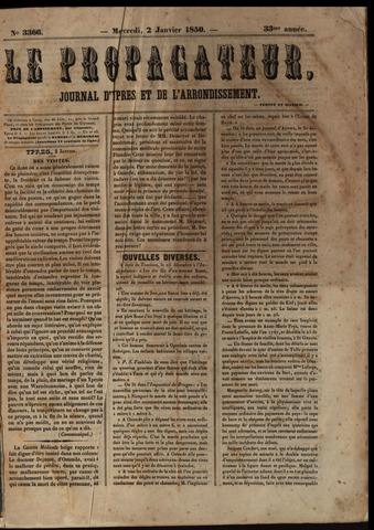 Le Propagateur (1818-1871) 1850
