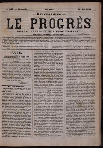 Le Progrès (1841-1914) 1880-05-30