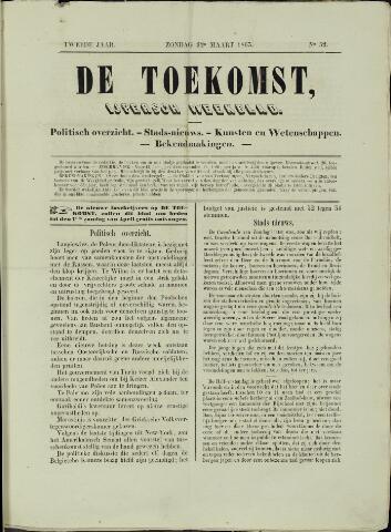 De Toekomst (1862 - 1894) 1863-03-22