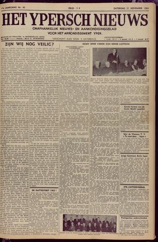 Het Ypersch nieuws (1929-1971) 1964-11-21