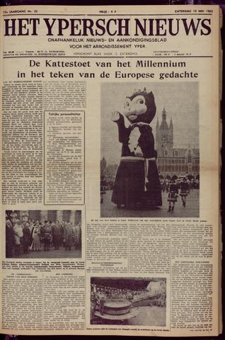 Het Ypersch nieuws (1929-1971) 1962-05-19