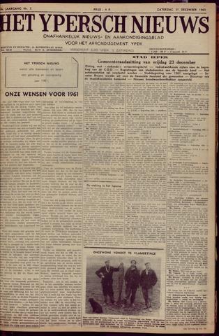 Het Ypersch nieuws (1929-1971) 1960-12-31