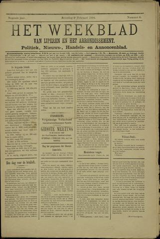 Het weekblad van Ijperen (1886 - 1906) 1894-02-03