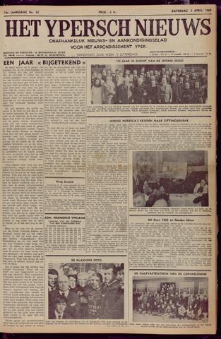 Het Ypersch nieuws (1929-1971) 1965-04-03