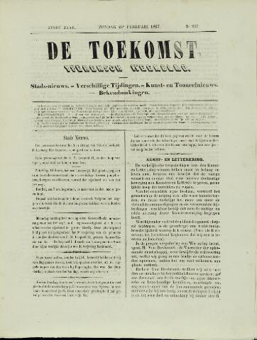 De Toekomst (1862 - 1894) 1867-02-24