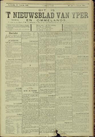 Nieuwsblad van Yperen en van het Arrondissement (1872 - 1912) 1905-11-18