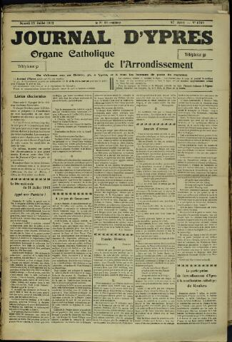 Journal d'Ypres (1874 - 1913) 1912-07-13