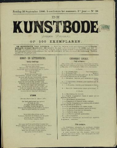 De Kunstbode (1880 - 1883) 1880-09-26
