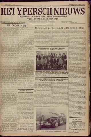 Het Ypersch nieuws (1929-1971) 1961-04-15