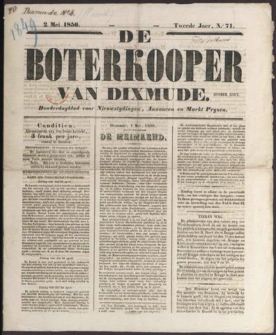 De Boterkoper 1850-05-02