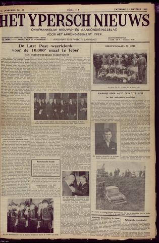 Het Ypersch nieuws (1929-1971) 1960-10-15