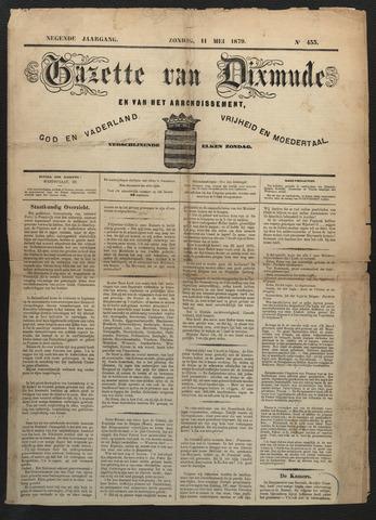 Gazette van Dixmude 1879-05-11