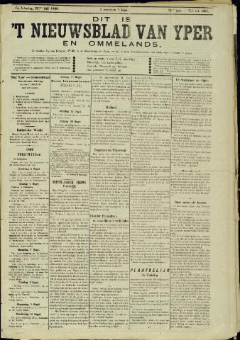 Nieuwsblad van Yperen en van het Arrondissement (1872 - 1912) 1899-07-22