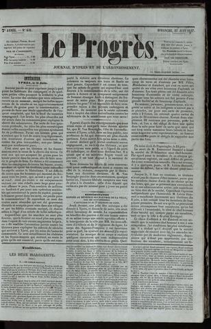 Le Progrès (1841-1914) 1847-06-27