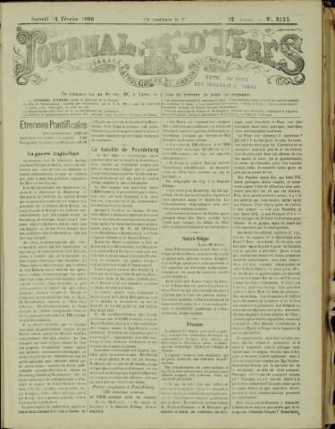 Journal d'Ypres (1874 - 1913) 1900-02-24