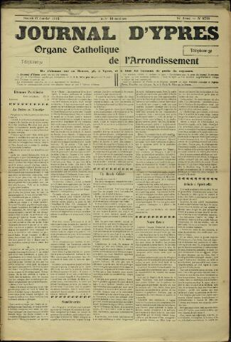 Journal d'Ypres (1874 - 1913) 1912-01-27