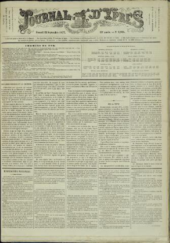Journal d'Ypres (1874 - 1913) 1877-09-22