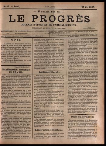 Le Progrès (1841-1914) 1897-05-27
