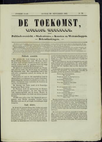 De Toekomst (1862 - 1894) 1863-09-20