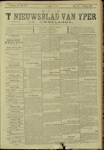 Nieuwsblad van Yperen en van het Arrondissement (1872 - 1912) 1905-07-15