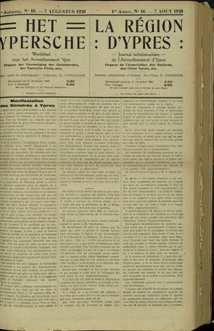 Het Ypersche (1925 - 1929) 1920-08-07