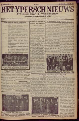 Het Ypersch nieuws (1929-1971) 1963-03-02