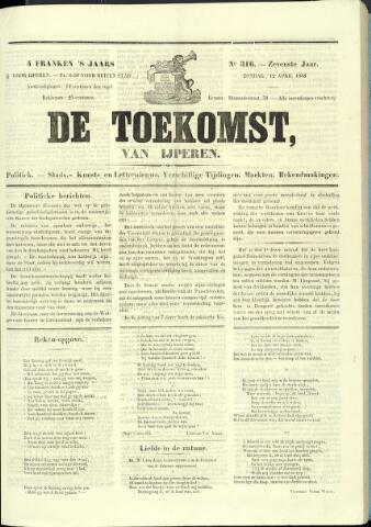 De Toekomst (1862 - 1894) 1868-04-12