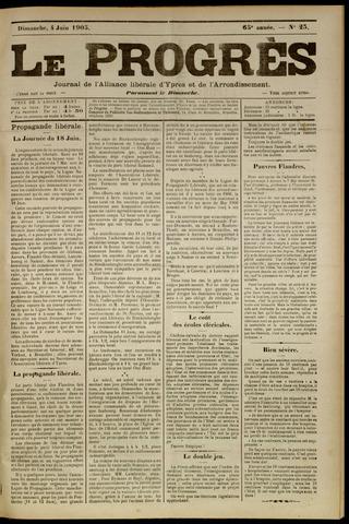 Le Progrès (1841-1914) 1905-06-04