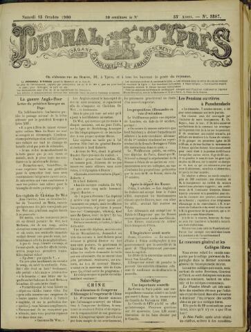 Journal d'Ypres (1874 - 1913) 1900-10-13