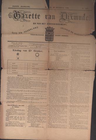 Gazette van Dixmude 1881