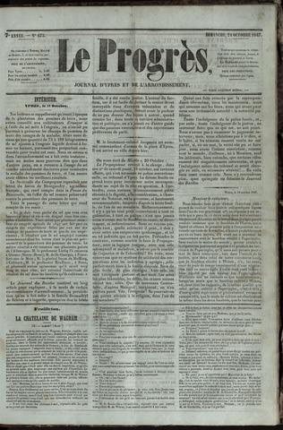 Le Progrès (1841-1914) 1847-10-24