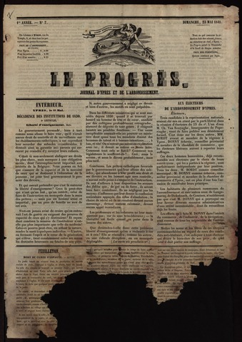Le Progrès (1841-1914) 1841-05-23