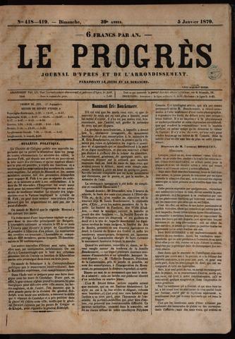 Le Progrès (1841-1914) 1879-01-05