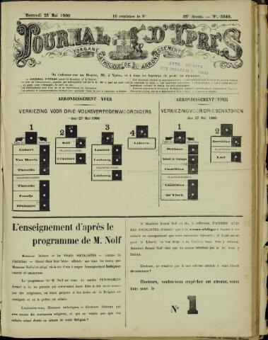 Journal d'Ypres (1874 - 1913) 1900-05-23